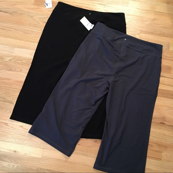 Old Navy Pants - Bundle of 2 NWT Old Navy black/gray capris sz 3x